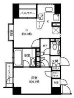 間取図/区画図:35.94㎡・1DK